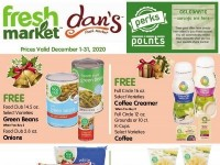 Dan's Fresh Market (December Reward offer) Flyer