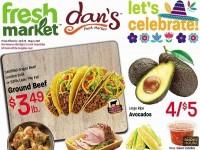 Dan's Fresh Market (Fiesta Day Savings) Flyer