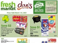 Dan's Fresh Market (March Reward offer) Flyer