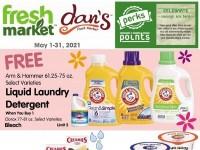 Dan's Fresh Market (May Reward Offer) Flyer