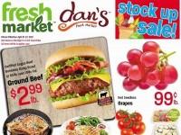 Dan's Fresh Market (Stock up sale) Flyer