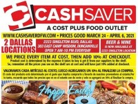 DFW Cash Saver (Weekly Specials) Flyer