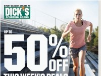 Dick's Sporting Goods (50% Off This Week's Deals) Flyer