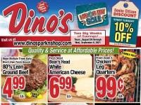 Dino's Park & Shop (Special Offer) Flyer