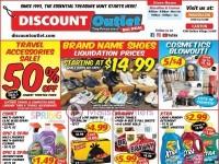 Discount Outlet (Big deal) Flyer