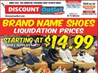 Discount Outlet (Brand New Shoes) Flyer
