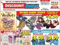 Discount Outlet (Happy Mother's Day) Flyer