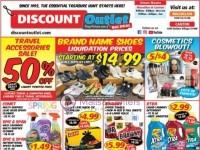 Discount Outlet (Hot Deals) Flyer
