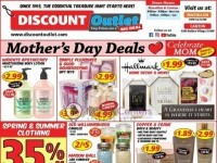 Discount Outlet (Mother's Day Deals) Flyer