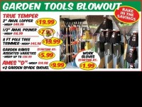 Discount Outlet (RAKE IN THE SAVINGS) Flyer