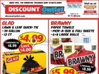 Discount Outlet (SPRING TIME ESSENTIALS) Flyer