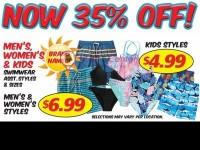 Discount Outlet (SWIMWEAR SALE) Flyer