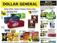Dollar General (Back To Savings - CA) Flyer