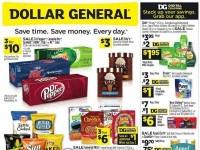 Dollar General (Back To Savings - NY And WA) Flyer