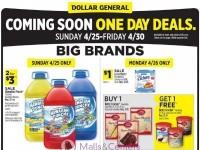 Dollar General (Big Brands Deals) Flyer