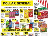 Dollar General (Celebrate Big And Save More - CA) Flyer