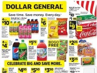 Dollar General (Celebrate Big And Save More - OR) Flyer