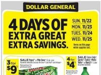 Dollar General (Extra Savings - CA) Flyer