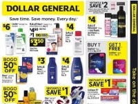 Dollar General (Get Ready for Back to School) Flyer