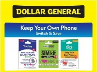 Dollar General (Keep Your Own Phone) Flyer