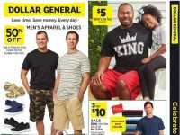 Dollar General (Men's Apparel And Shoes) Flyer
