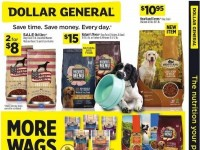 Dollar General (More Wags) Flyer
