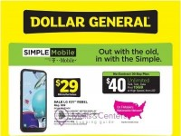 Dollar General (Move To The Best Value In Wireless) Flyer