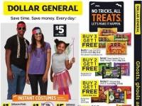 Dollar General (No Tricks, All Treats) Flyer
