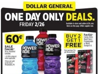 Dollar General (One Day Only Deals) Flyer