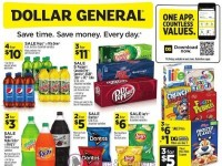 Dollar General (Save Time Save Money - AZ And NY) Flyer