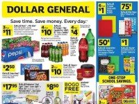 Dollar General (Save Time Save Money - CA) Flyer