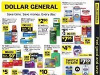 Dollar General (Save Time Save Money) Flyer