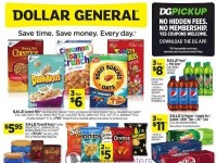 Dollar General (Save Time Save Money - NY And OR) Flyer