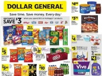 Dollar General (Save Time Save Money - NY And WA) Flyer