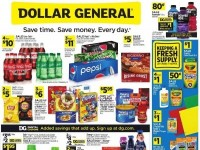 Dollar General (Save Time Save Money - NY) Flyer