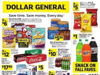 Dollar General (Special Offer - CA) Flyer