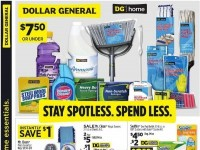 Dollar General (Stay Spotless Spend Less) Flyer