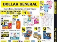 Dollar General (Switch To Save Even More - NY) Flyer