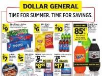 Dollar General (Time For Summer - CA) Flyer