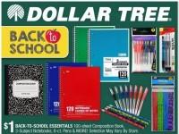 Dollar Tree (Back To School) Flyer