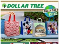 Dollar Tree (Earth Day) Flyer