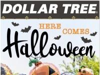 Dollar Tree (Here Comes Halloween) Flyer
