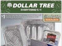 Dollar Tree (Holiday Entertaining) Flyer