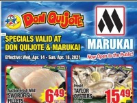 Don Quijote Hawaii (Seafood Deals) Flyer