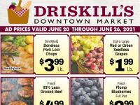 Driskill's Downtown Market (Let Summer Begin) Flyer