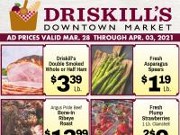 Driskill's Downtown Market (Special Deals) Flyer