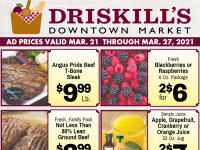 Driskill's Downtown Market (Spring Savings) Flyer
