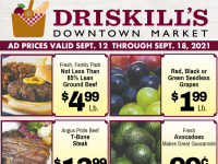 Driskill's Downtown Market (Summer Time Savings) Flyer