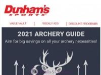Dunham's Sports (Archery Digital guide) Flyer