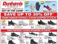 Dunham's Sports (Back to School) Flyer